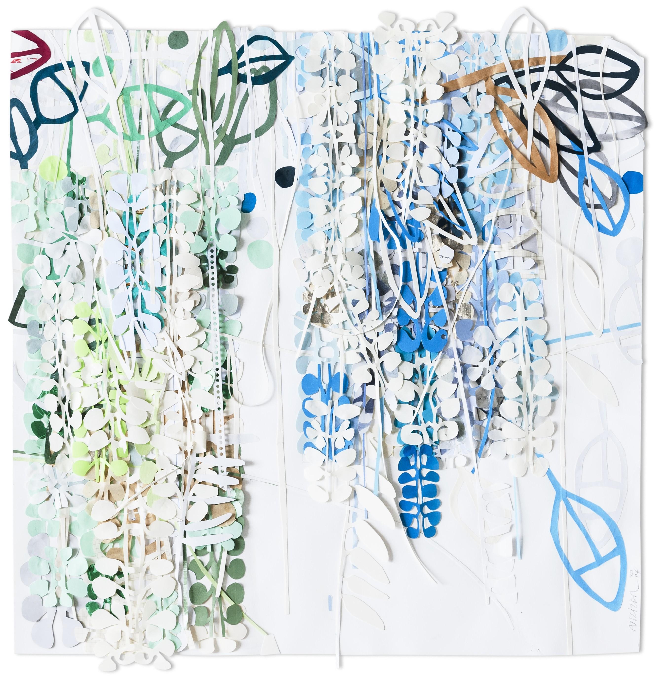 ST, papel sobre papel ,90x90cm, 2014