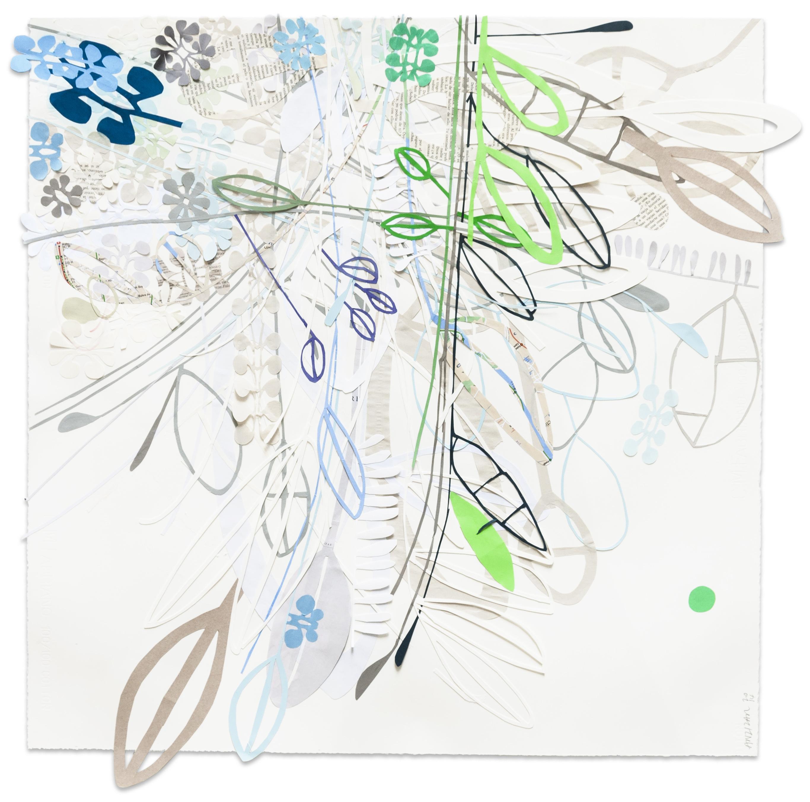 ST , papel sobre papel, 90x90cm, 2014