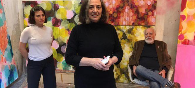 #viviconarte ELSI DEL RIO Arte Contemporáneo entrevista a Eugenia Streb (Genia)