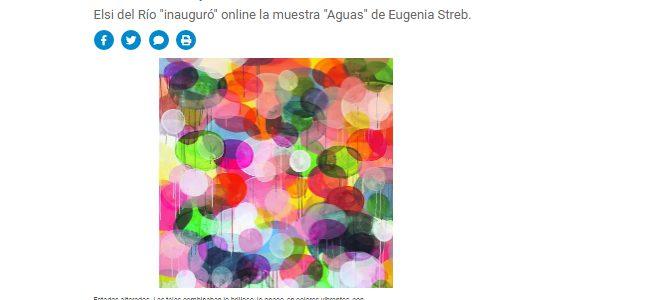 Nota sobre la actualidad de las galerías de arte por Laura Feinsilber para Ambito.com